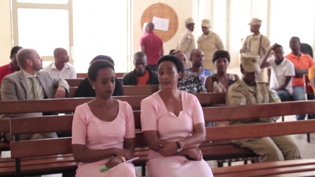 prosecutors in the trial of rwanda's leading dissident politician seek a 22 year sentence against diane rwigara accused of inciting insurrection and... - diane rwigara stock videos and b-roll footage