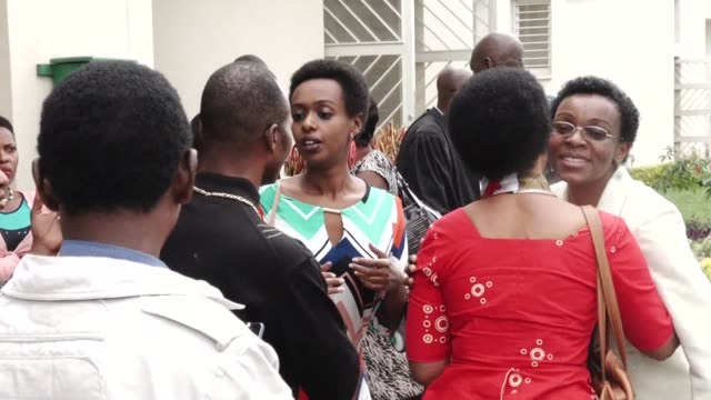 prosecutors on wednesday requested that rwanda's leading dissident politician be handed 22 years in prison for inciting insurrection and forgery as... - diane rwigara stock videos and b-roll footage
