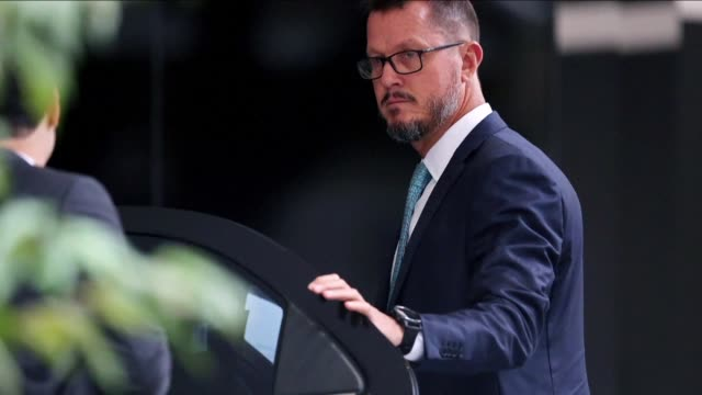 prosecutors said a top former executive of brazilian multinational odebrecht gave details wednesday of multimillion dollar payoffs to peruvian... - brasile meridionale video stock e b–roll