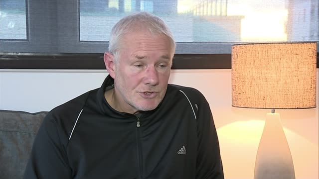 prostate cancer becomes third beiggest cause of cancer deaths after overtaking deaths from breast cancer scotland int john rutherford interview sot - overtaking stock videos and b-roll footage