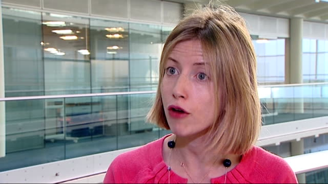 prostate drug too expensive for nhs england london gir int sarah woolnough interview sot - prostate stock videos and b-roll footage