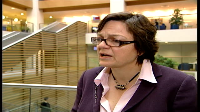 proposals to legalise smallscale brothels int fiona mactaggart mp interview sot women who are involved in prostitution are usually drug addicted... - bordell stock-videos und b-roll-filmmaterial