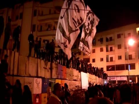 vídeos de stock, filmes e b-roll de protest in egypt against president morsi and the new constitution - arab spring