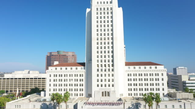 protest protest encampment in front of los angeles city hall - racism stock videos & royalty-free footage