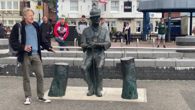 GBR: Baden-Powell Statue Due To Be Removed From Poole Quay