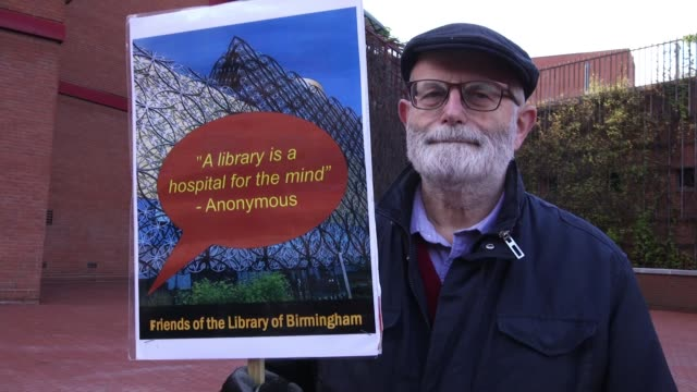 protesters demanding funding support for libraries march through london; uk, london; protestors at 'save our libraries' demonstration. england:... - library stock videos & royalty-free footage