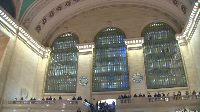 protesters gathered inside and around grand central terminal wednesday following the grand jury's decision that officer daniel pantaleo will not be... - juror stock videos & royalty-free footage