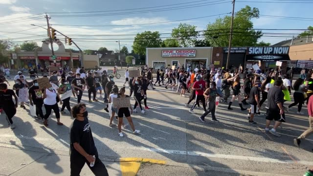 USA: Protests Continue Across The Country In Reaction To Death Of George Floyd