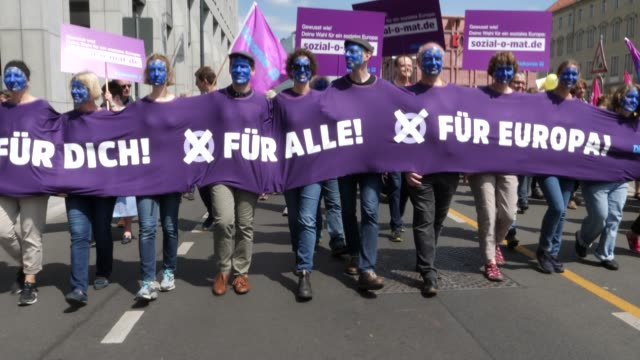 "DEU: ""One Europe For All"" Marches Take Place Across Germany"