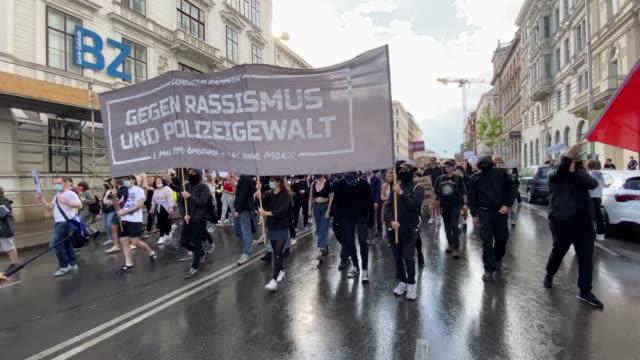 AUT: Black Lives Matter Protest In Vienna