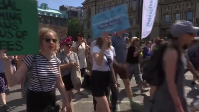 Protests in Helsinki ahead of Donald Trump visit Finland Helsinki Anti Donald Trump demonstrators / protester interviews Helsinki EXT Protester with...