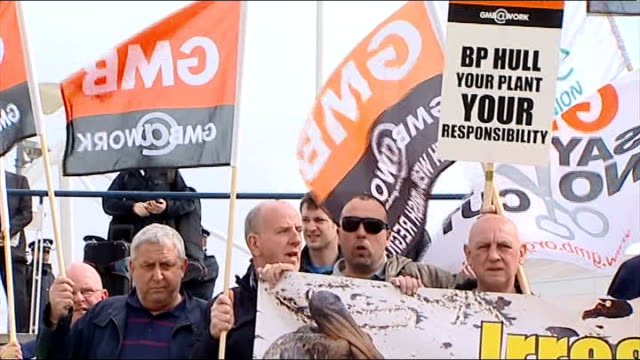 protests outside bp annual general meeting england london ext dianne wilson with hands and face smeared in oil demonstrates outside bp annual general... - annual general meeting stock videos & royalty-free footage