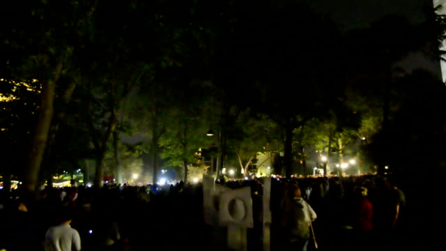 Protests started after police crackdown of protest against removing Gezi park trees on May 31 2013 in Istanbul Turkey