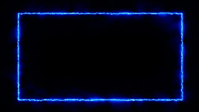 プロトン-火事/エネルギー型フレーム - 特殊効果点の映像素材/bロール