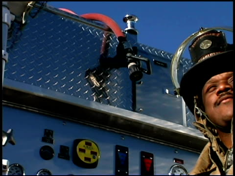 proud firefighter - one mid adult man only stock videos & royalty-free footage
