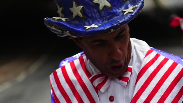 proud to be an american - top hat stock videos & royalty-free footage
