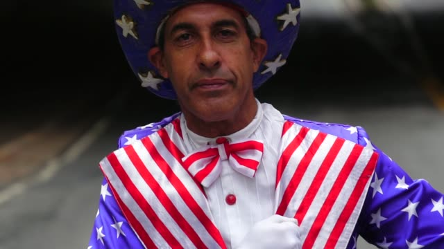 proud to be an american - uncle sam stock videos & royalty-free footage