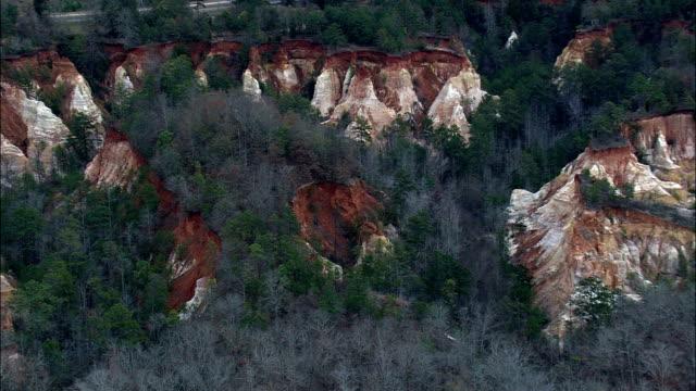 プロビデンス峡谷州立公園 - 空中写真 - スチュワート郡、ジョージア州、アメリカ合衆国