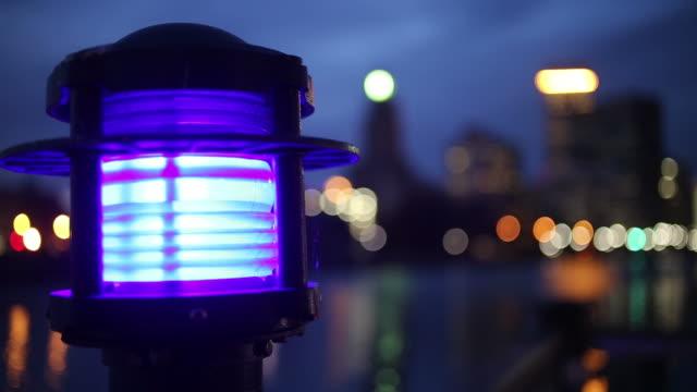プロヴィデンス(RI)ダウンタウンの夜のビデオ