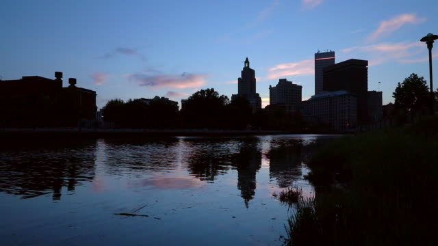 Providence River at Dusk