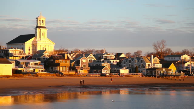 provincetown, cape cod - massachusetts stock-videos und b-roll-filmmaterial