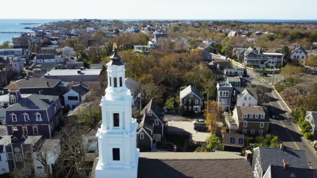 provincetown ma aerial - massachusetts stock videos & royalty-free footage