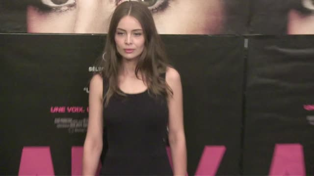 prudence maidou, chloe coulloud, marie ange casta and amelle chahbi attends the amy premiere at cinema max linder in paris. paris, france. tuesday,... - premiere stock videos & royalty-free footage