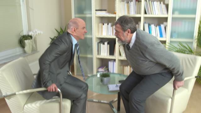 HD: Psychiatrist Handshaking With A Patient