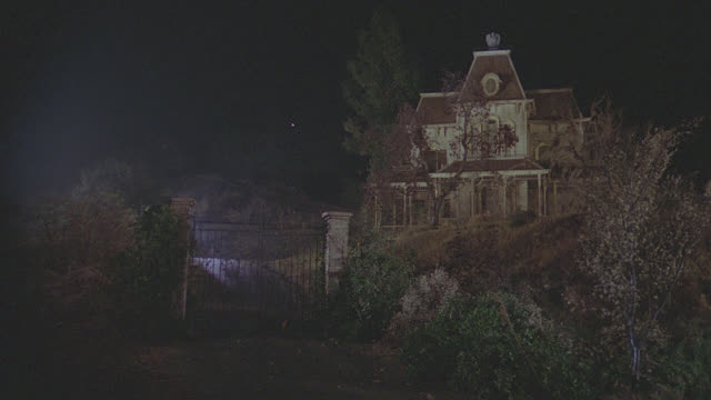 psycho house - night - spooky stock videos & royalty-free footage