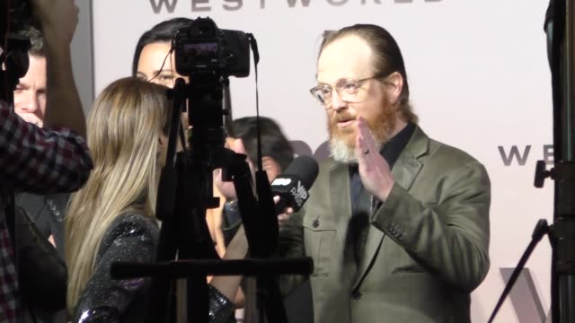 ptolemy slocum outside the westworld season 3 premiere at tcl chinese theatre in hollywood in celebrity sightings in los angeles - mann theaters stock videos & royalty-free footage