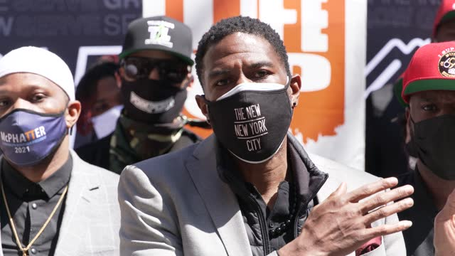 public advocate jumaane d. williams. in light of recent gun violence and the multitude of shootings in the summer of 2020 fellow elected officials... - gun control stock videos & royalty-free footage