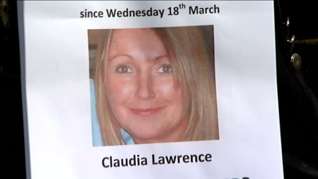 public appeal as father retraces steps of missing chef claudia lawrence; england: yorkshire: york: ext peter lawrence walking part of his daughter's... - in front of点の映像素材/bロール