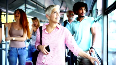 public bus ride. - bus stock videos & royalty-free footage