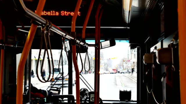 public bus - public transport stock videos & royalty-free footage