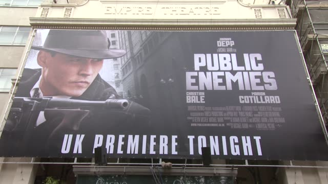 'public enemies' is a collaboration between two movie giants actor johnny depp and director michael mann set in chicago during the great depression... - john dillinger stock-videos und b-roll-filmmaterial