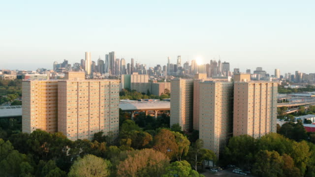 public housing buildings in melbourne - victoria australia stock videos & royalty-free footage