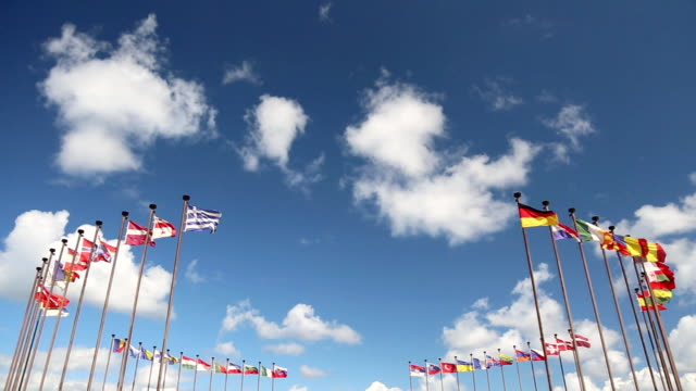 public international flags