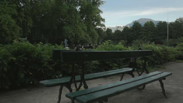 public park - grenoble, france - grenoble stock-videos und b-roll-filmmaterial
