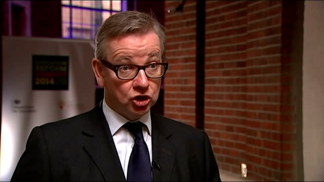 Public sector strike goes ahead / Government plans to clamp down on future strikes INT Michael Gove MP interview SOT No excuse for striking today the...