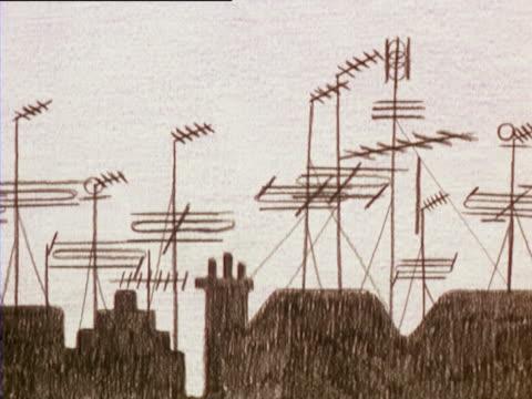 vidéos et rushes de public service animation - 1971