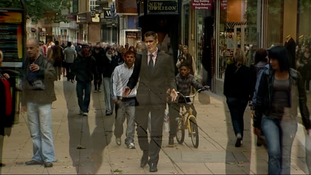 Council plans to increase charges for people reliant on home care Cambridgeshire Peterborough EXT Shoppers along in shopping mall Reporter to camera...