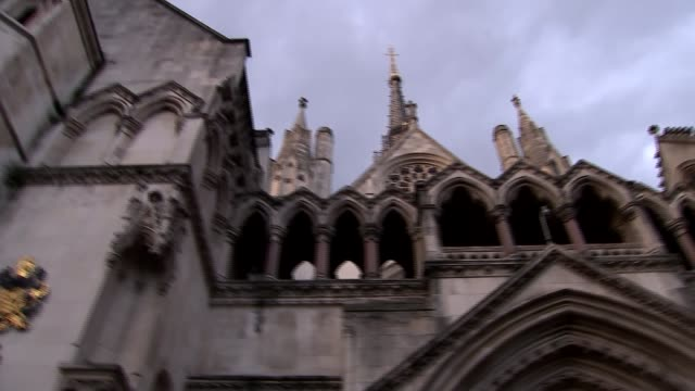 public to be allowed to appeal against lenient terror sentences r070217014 ext gvs royal courts of justice high court - court room stock videos and b-roll footage