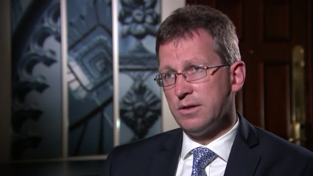 Public to be allowed to appeal against lenient terror sentences R270717011 / 2772017 INT Jeremy Wright MP interview re sentencing SOT / Derbyshire...