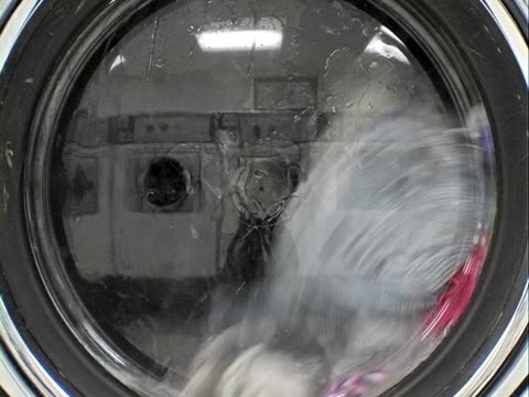 Public Washing Machine. Progressive frames