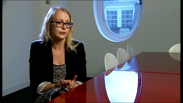 sales of hardback books in decline as eBooks take over ENGLAND London INT Olivia Solon interview SOT Reporter to camera Paperback books on display in...