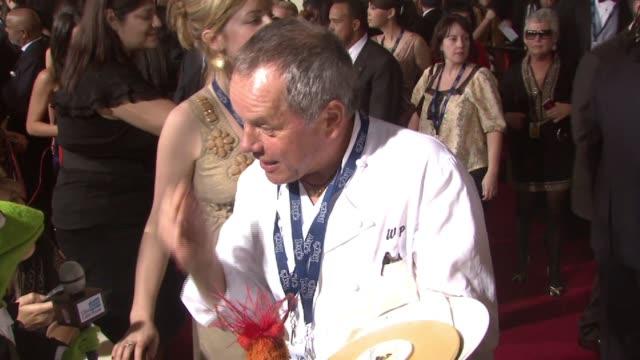 puck, wolfgang puck at the 50th annual grammy awards at los angeles california. - wolfgang puck stock videos & royalty-free footage