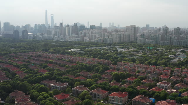 pudong residential district - liyao xie stock videos & royalty-free footage