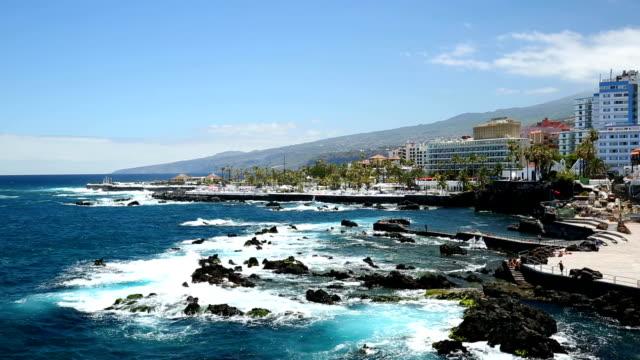 Puerto de La Cruz in Tenerife