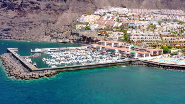 Puerto de Los Gigantes Aerial view