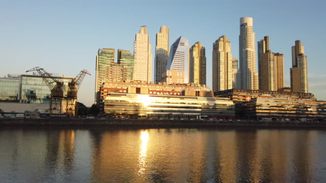 puerto madero video - puerto madero stock videos & royalty-free footage